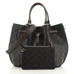 Louis Vuitton Girolata Mahina Noir Handbag